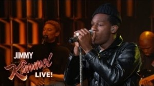"Leon Bridges Performs ""shy"" On Jimmy Kimmel Live!"
